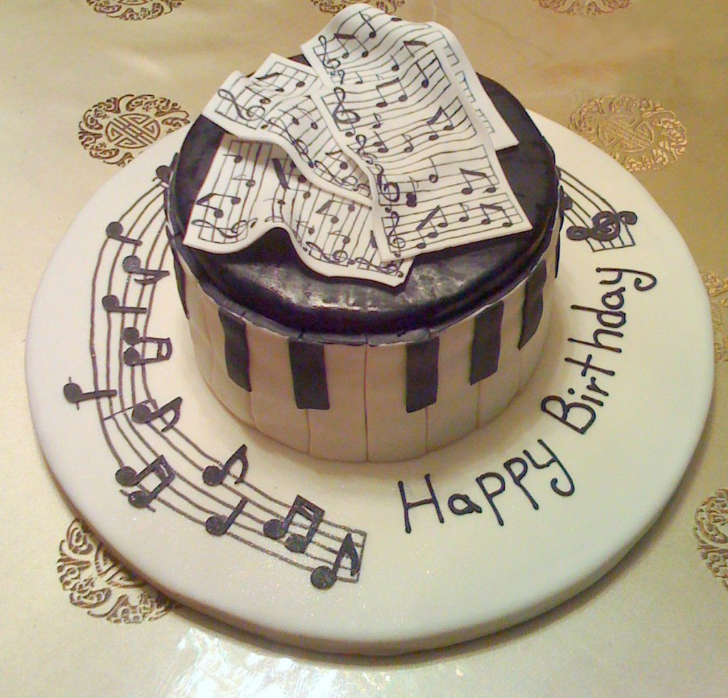 Поздравление с днем рождения музыканту